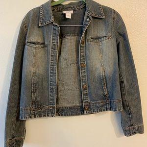 Ann Taylor Loft Size 6 Harley Davidson Jean Jacket